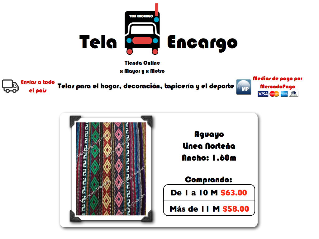 Datos del vendedor - Telas para tapiceria precios ...
